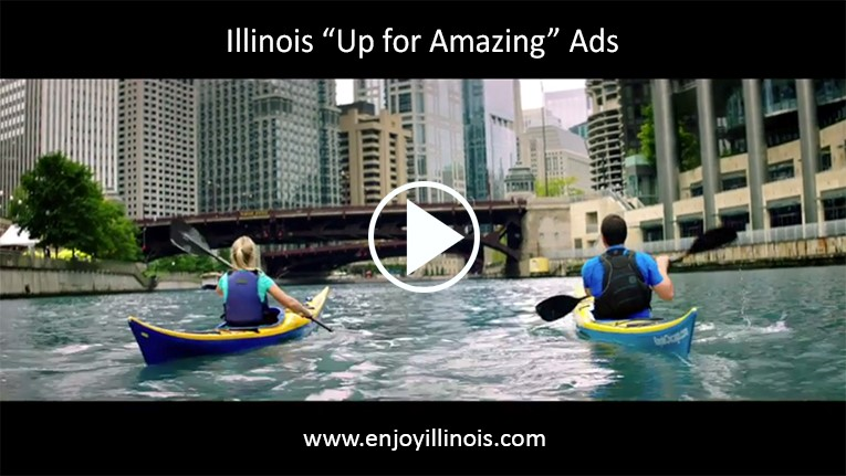 Illinois Up for Amazing campaign ads